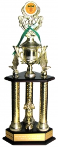 Youth Phiatelistl of Year trophy
