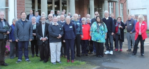 Attendees of the NZ Postcard Society Annual Convention in Wanganui
